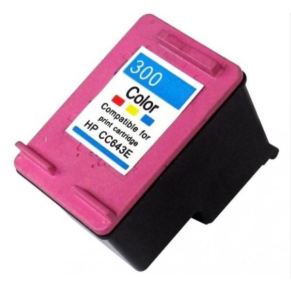 HP 300XL TRICOLOR CARTUCHO DE TINTA REMANUFACTURADO CC644EE