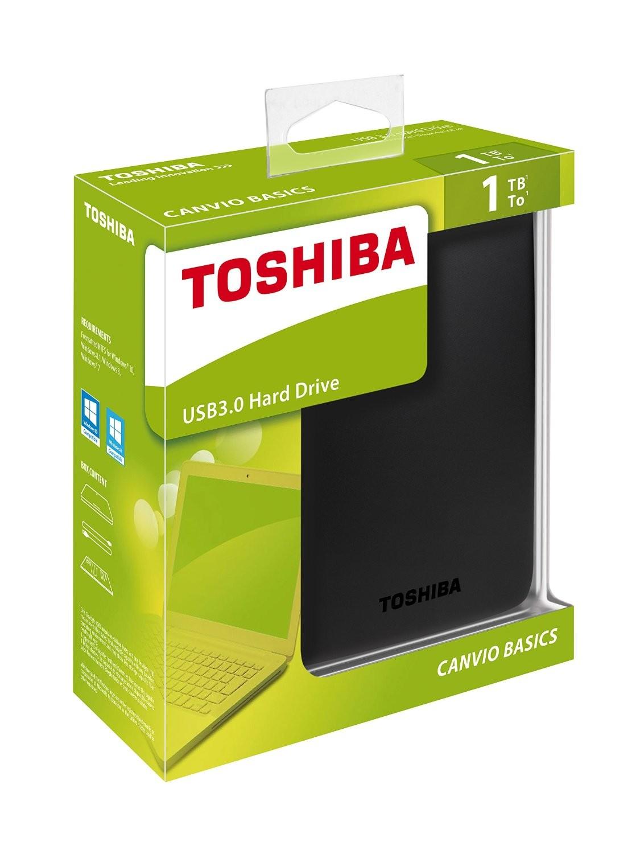 Toshiba HD Externo 2.5' 1TB USB 3.0 Canvio Basics