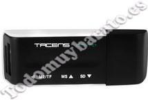 Lector de tarjetas externo TACENS ANIMA USB 46 EN 1
